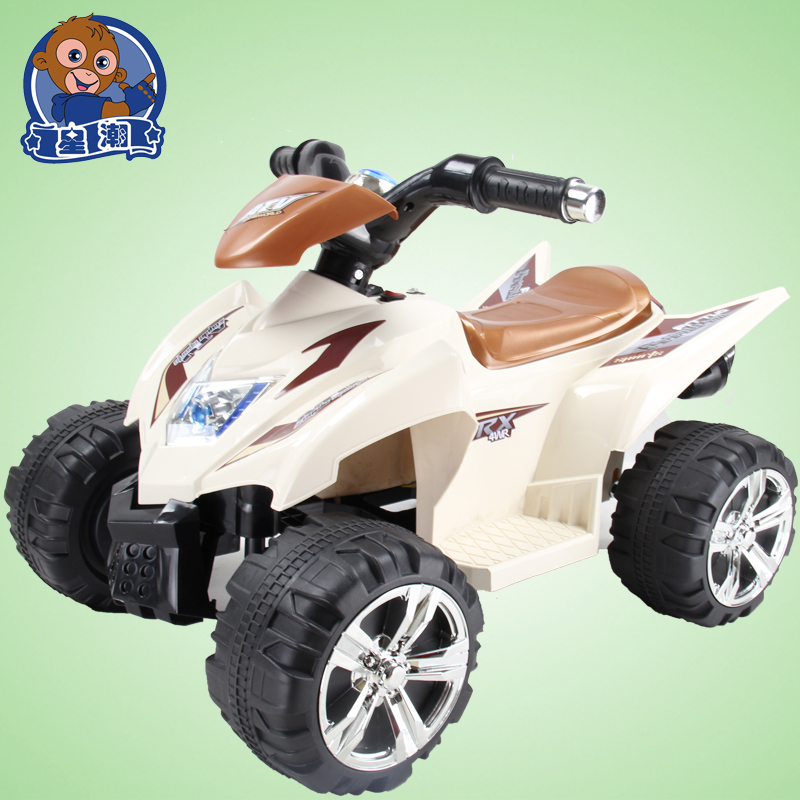 Electric cars for kids children s ride on atv with remote for Motorized quad for toddler