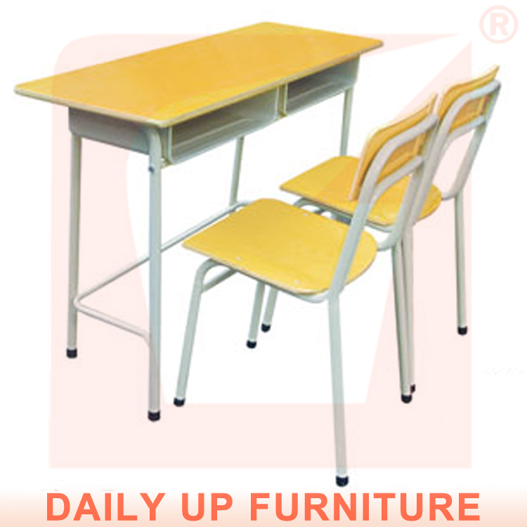 School Student Desk and Chair Fixed Child Bed Room Furniture Set Environmental Wooden Study Table Chair Designs<br><br>Aliexpress