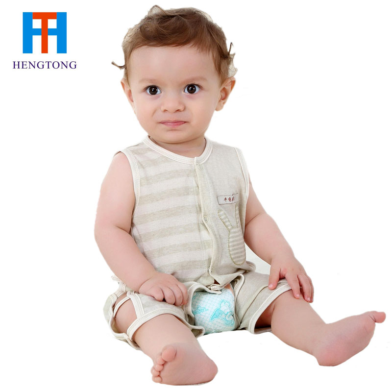 Baby romper 2016 new infant stripe romper toddler boy girl jumpsuits cute baby coverall clothing newborn baby girl clothes(China (Mainland))