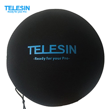 """TELESIN 6"""" Dome Port Bag Soft Protect Hood Fit With TELESIN Dome Port For Gopro Hero3/3+/4 Black Cover(China (Mainland))"""