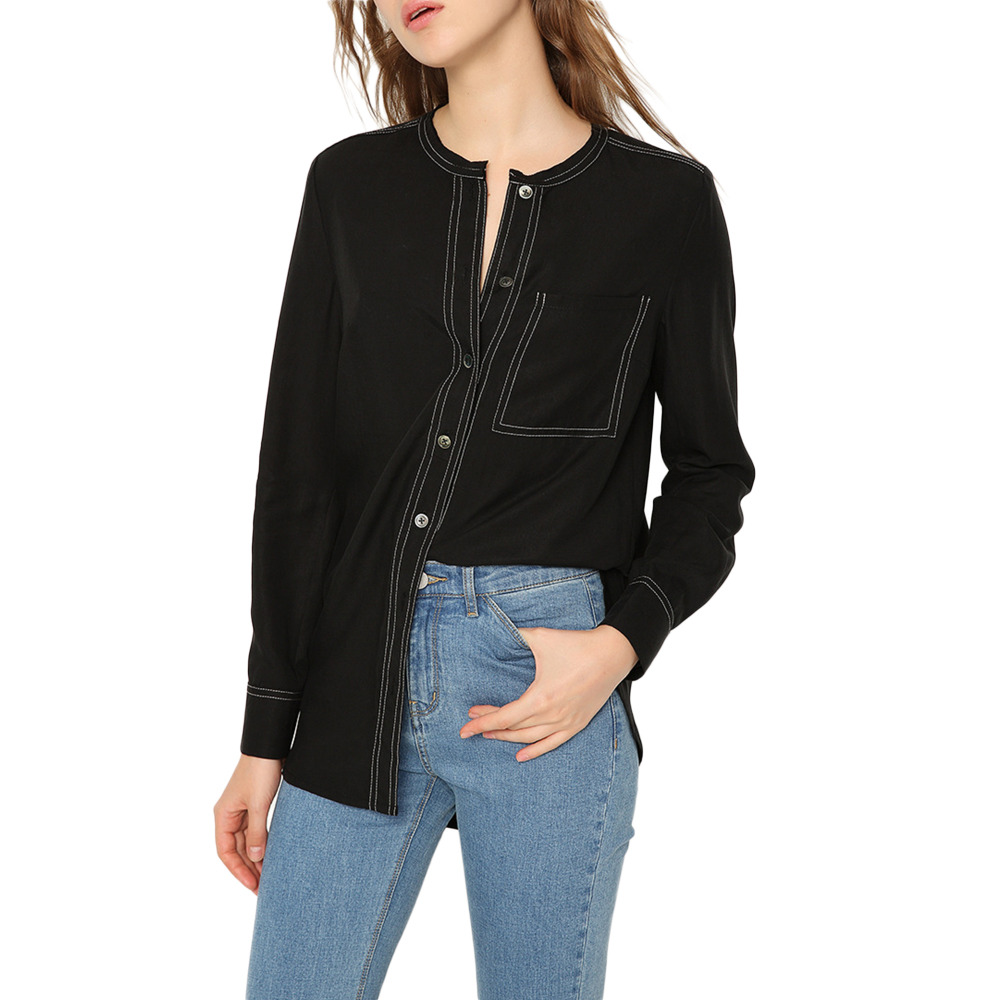 Popular Black Button Down Shirt-Buy Cheap Black Button Down Shirt ...