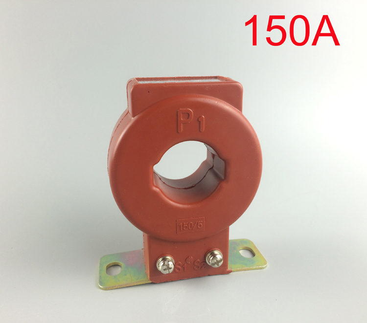 New type Easy use 150/5 0-150A current transformer Conductor through 1 time 150A CT(China (Mainland))