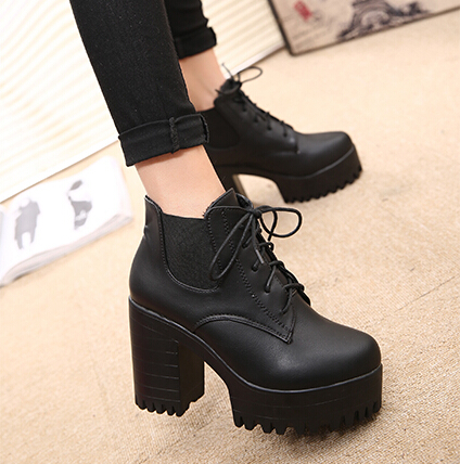 Cheap Chunky Boots