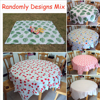 10 Pcs Wholesale Disposable Tablecloth 180x180cm Square Plastic Waterproof Anti Greasy Dinning Picnic Party Table Cloth