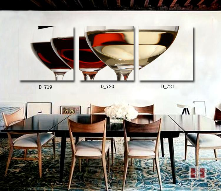 28 dining room canvas wall art 3 pieces wall art for Dining room wall art images