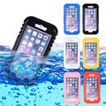 Hot Waterproof Heavy Duty Hybrid Summer Swimming Dive Case For Apple iPhone 6 6S Transparent Phone