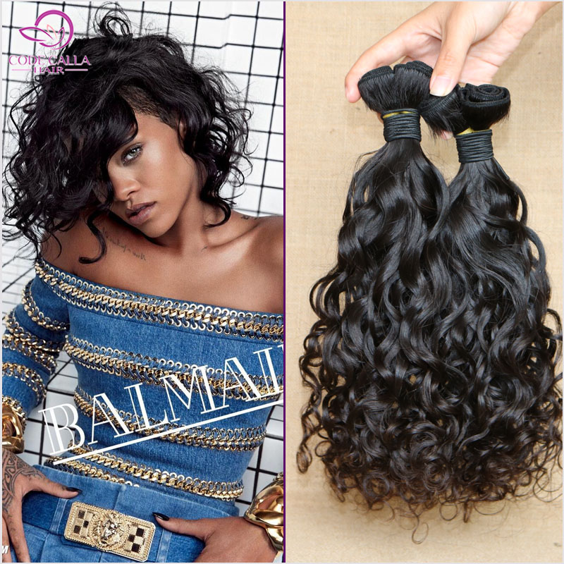 Peruvian virgin hair 6A candy curl virgin hair 3pcs/lot human hair weave bundles aunty funmi hair extensions ZPCC63<br><br>Aliexpress