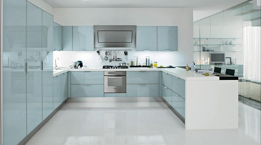 Koop aangepaste massief houten keuken kast keukenmeubelen keuken kast blum lade - Aangepaste kast ...