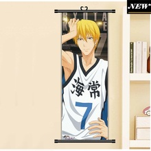 45X125CM Kuroko no Basuke Basketball Kise.Ryouta sport Anime Cartoon scroll wall picture mural poster art cloth canvas painting