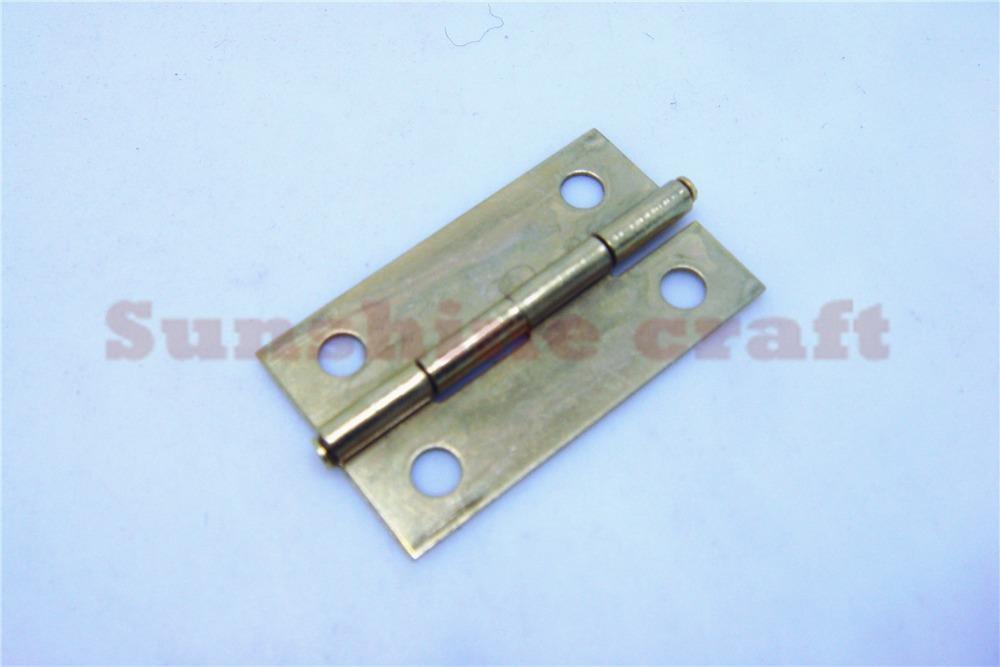 50pcs 30 * 18mm furniture connectors 4 hole small wooden gift box hinge small wooden hinge(China (Mainland))