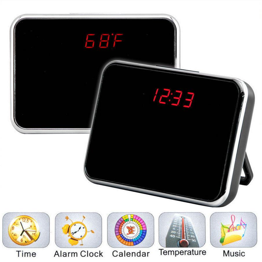 Гаджет   arrival 5MP HD Cam Alarm Clock Video Camera DVR DV Digital Recorder Motion Remote hot new None Безопасность и защита
