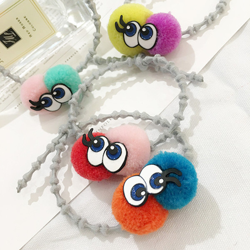 FHS020 Fashion Cute Colourful Eyes Eye Ball Hand Hair Clip Punk Hairwear Hairpin Bobby Pin Bone Section Hair Ring Jewelry(China (Mainland))