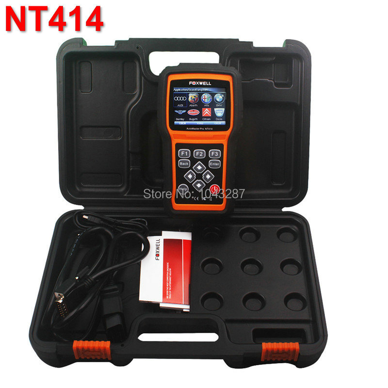 Foxwell NT414 All Brand Vehicle Four Systems Diagnostic Tool for American/Asian/European Vehicle Makes<br><br>Aliexpress