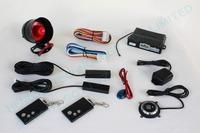 multiple-function passive PKE car alarm system,smart key,keyless entry,push button start,remoe start,hopping code FS-58 RM1
