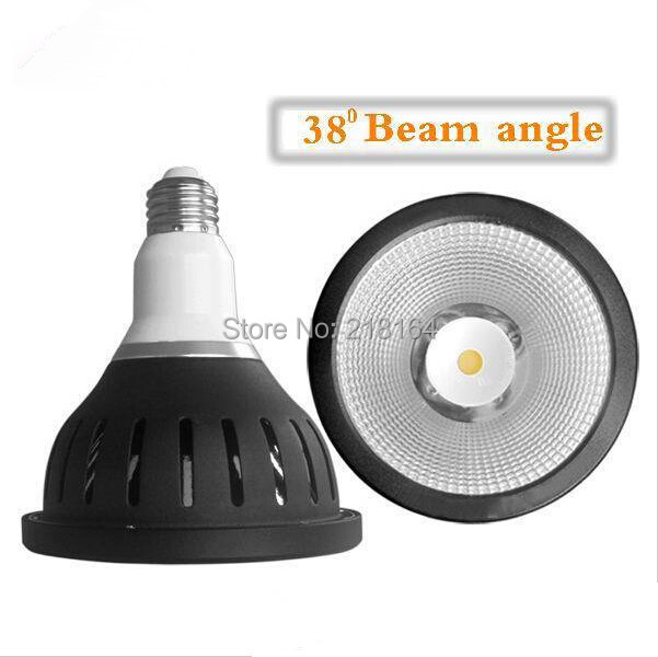 Free shipping Dimmable waterproof COB led par38 white reflector lamp 18W 1370lumens, Epistar COB 3 years Warranty(China (Mainland))