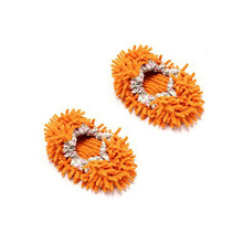 SCYL Multi-Function Chenille Fibre Washable Dust Mop Slippers - Random Color (Pair)(China (Mainland))