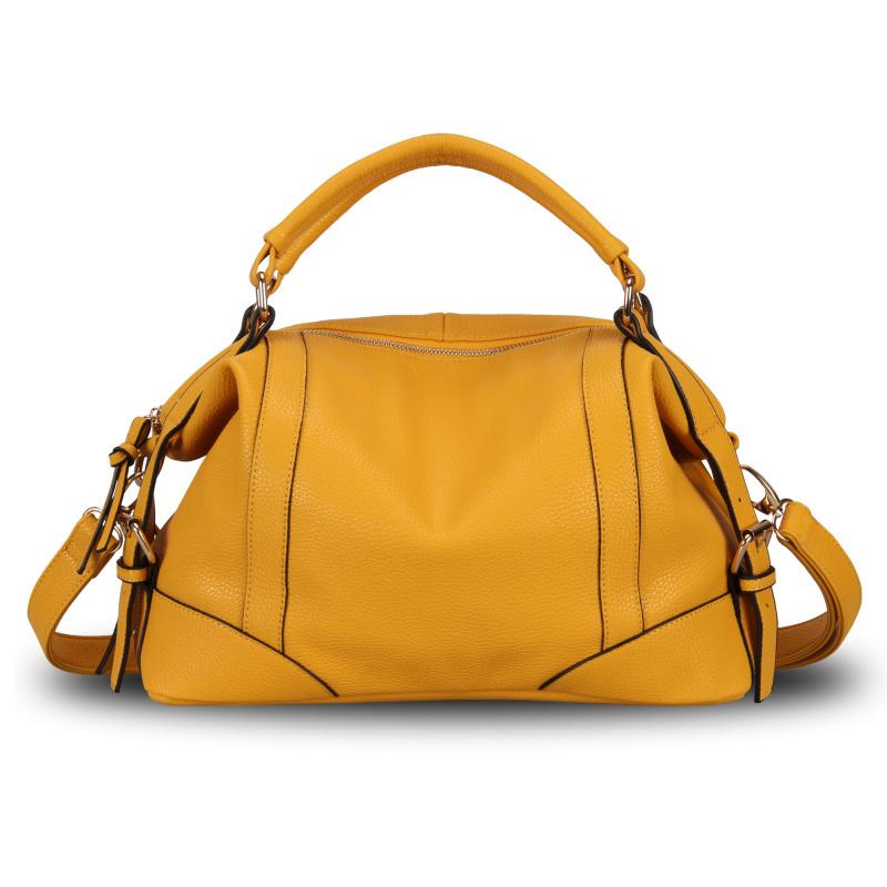 2015 Fashion Women Handbag Candy Leather Ladies Tote Bag Casual Shoulder Bag Female Elegant Bolsos Desigual Bag Famous Brand(China (Mainland))