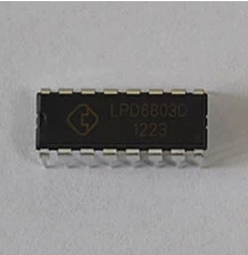 [100% brand new original authenc] LPD6803D DIP16 three-channel cotant current LED driver IC(China (Mainland))