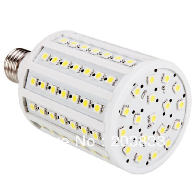 18W E27 102 LED SMD 5050 Pure White Corn Light 220V 1800-2000LM   LE059