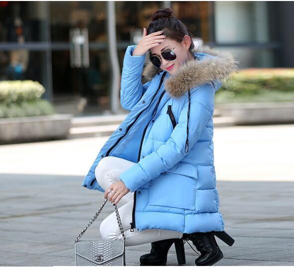 Скидки на Осень Куртка Женщин 2016 Новая Зимняя Женская Куртка Повседневная Верхняя Одежда С Капюшоном Пальто Пальто Манто Femme Женщина Одежда