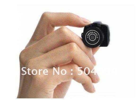 Y2000 Ultra Mini HD Digital Video Camera Mini DV DVR High Clear DV DVR Mini Hidden Camcorder Free shipping(China (Mainland))