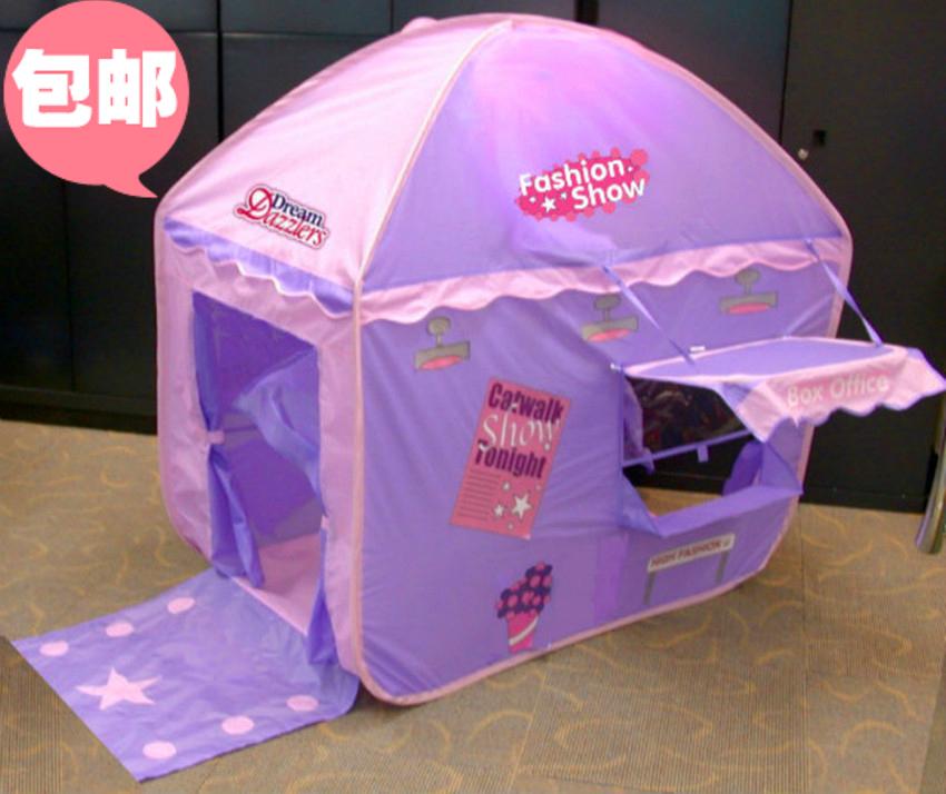 [해외]휴대용 접이식 아이 텐트 대형 공주 아기 장난감 텐트 팝업 ..