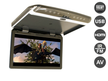 15.6 inch Flip down (roof mount) 1080P monitor with USB and HDMI, AVIS Electronics AVS1550MPP(Metal Grey)(China (Mainland))