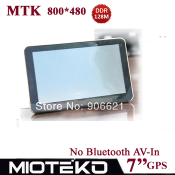 Improved!!! 7 inch Free 4GB Car GPS Navigation Navigator  800*480,MTK,DDR128M / 4GB,FM,Naivtel(Russia,Ukraine,Belarus,Kazakhstan