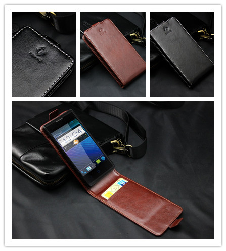 GD2 High Quality luxury wallet Leather Case for ZTE Blade Buzz V815W Flip Cover case with credit card holders+stylus(China (Mainland))