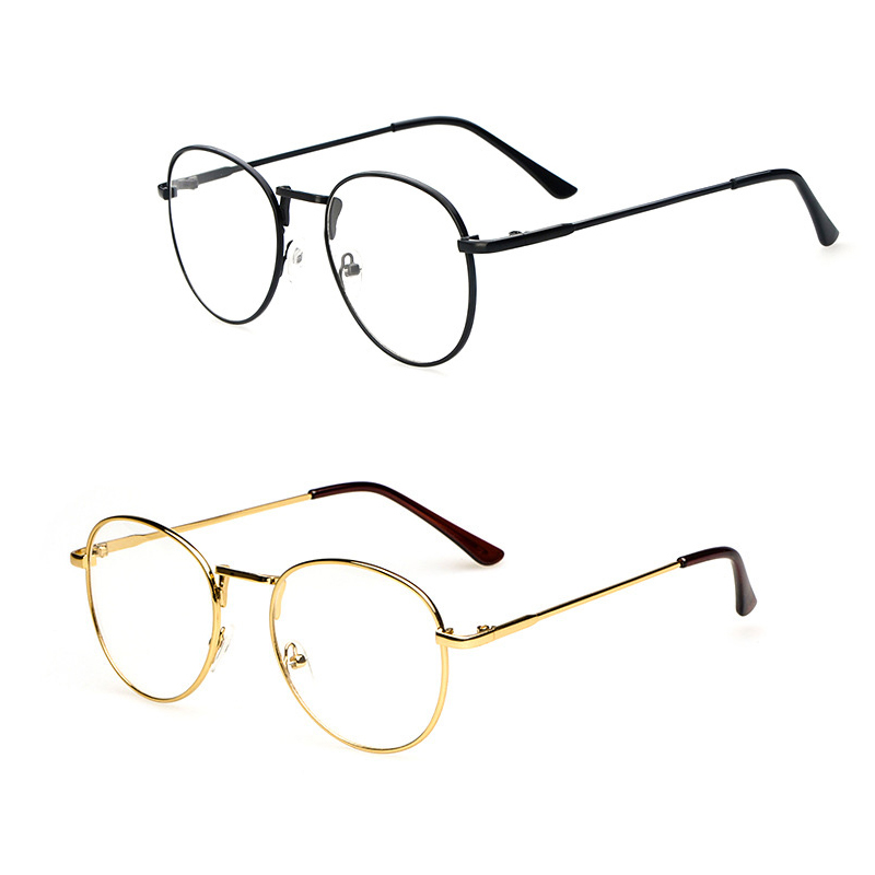 popular glasses frames w6g8  Europe and the United States the latest popular retro metal round glasses  Men's and women's literary