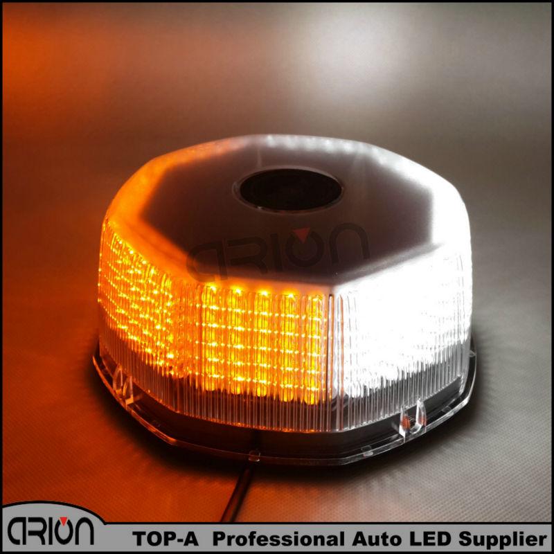 Amber/white 240 LED Car Vehicle Magnets Strobe Light Lamp Warning Beacon Emergency Flashing Lights Lamp 12V Magnetic base(China (Mainland))