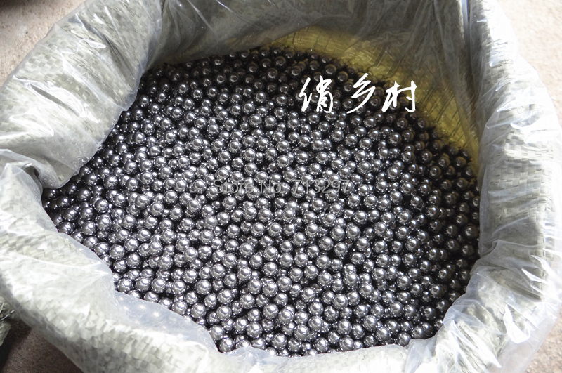 8.00mm 200pcs/lot ,Slingshots Ammo High Quality Sling Shot Catapult Hunting steel Balls FREE SHIPPING(China (Mainland))
