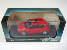1:43 Volkswagen POLO GTI Blue Alloy Model Diecast Show Car Classic toys Scale Models