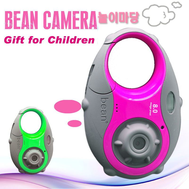 Best gift,the child bean video camera 8M pixel 1.5inch high definition TFT LCD kid digital camera(China (Mainland))