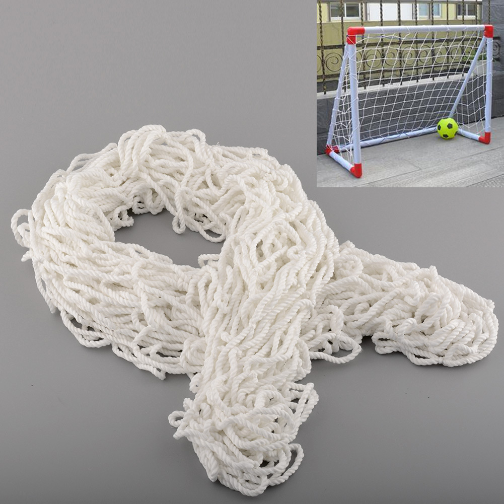 4x5FT Football Soccer Goal Post Nets For Training Practice Match Useful White Safety Full size(China (Mainland))