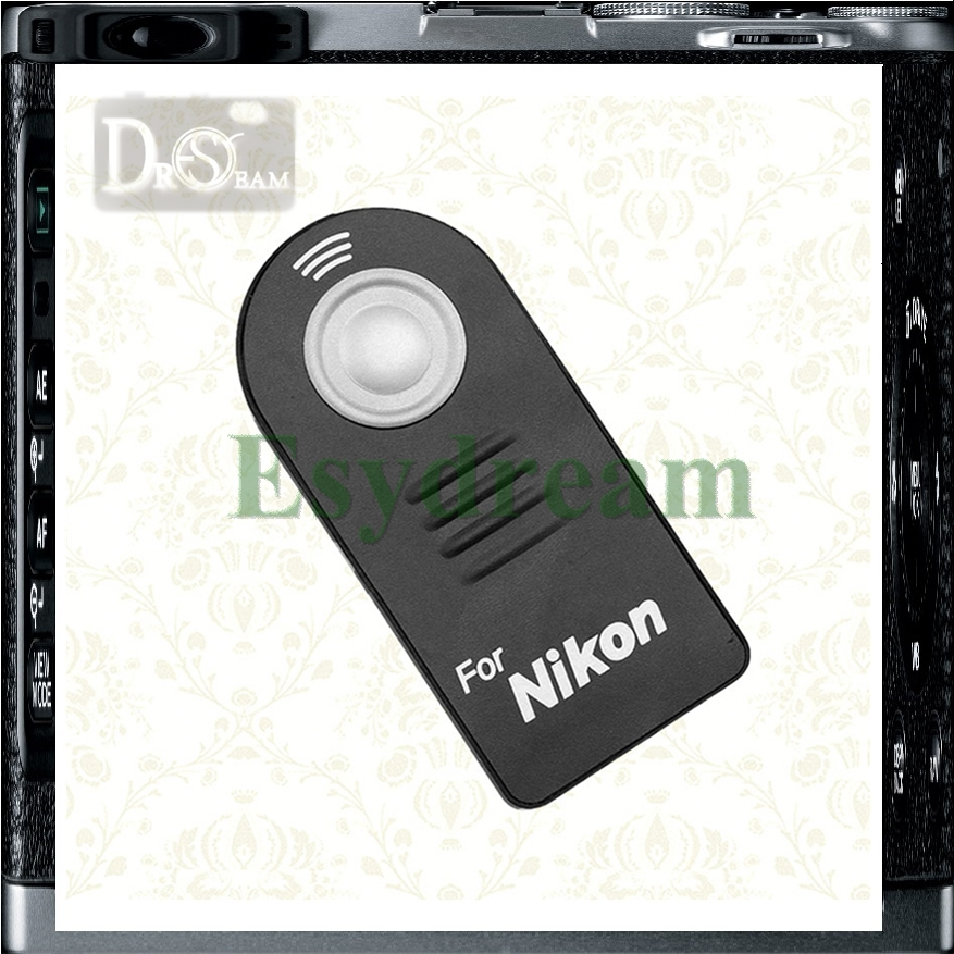 IR Infrared Wireless Remote Control As ML-L3 MLL3 For Nikon D5200 D3200 D7100 D90 D7200 D610 D7000 D80 D90 D60 D5100 D5500 D3300(China (Mainland))
