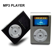 Hot LCD Screen Mini USB Clip MP3 Player Multicolor Digital MP3 Music Players Support Micro SD TF Card(China (Mainland))