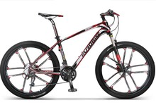 carbon fibre bike 27 speed 26 inch wheel complete mountain bike(China (Mainland))