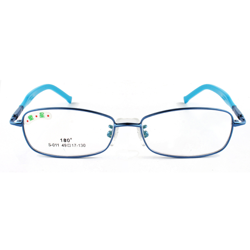 Kids Glasses Frame Fashion Girl and Boys Glasses Frame Pink Purple Blue Silver Red Colors Eye Glasses(China (Mainland))