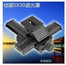4 way Macro Shot Focusing Rail Slider 1/4″Quick plate Tripod Stand Fo DSLR Free shipping worldwide +tracking number