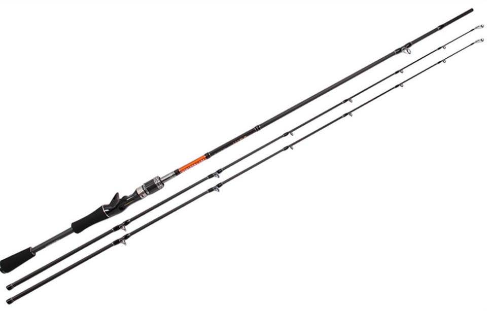 NEW Arrival Free Express Trulinoya Brand Super 2.1m Two Segments Sections Superhard Spinning Lure Fishing Rod(China (Mainland))