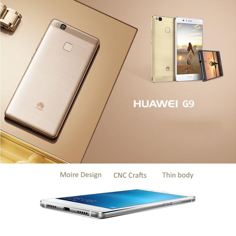 Original Huawei G9 Lite Cell Phone MSM8952 Octa-Core 3GB RAM 16GB ROM 5.2″ Screen 13.0MP Camera Fingerprint LTE Smartphone