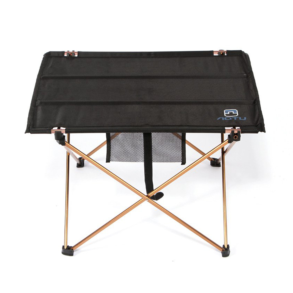FJS Wholesale AUTO Portable Foldable Folding Table Desk Camping Outdoor Picnic 7075 Aluminium Alloy Ultra-light(black)<br><br>Aliexpress