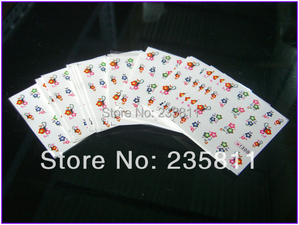 10/ LOT SY Nail Art Water Transfers Stickers Decal Opp Sleeve Packing package 861-1340 - Jenny's nail beauty store