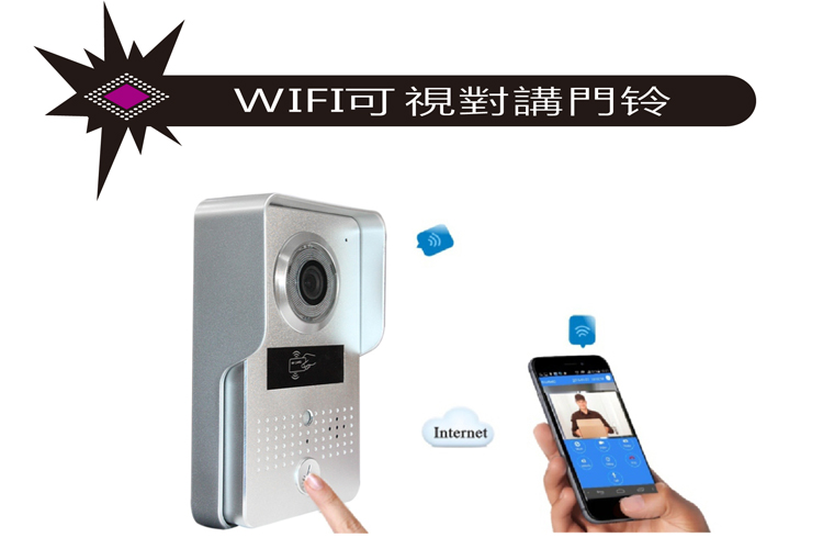 Smart wifi access visual doorbell card cell phone unlock induction(China (Mainland))