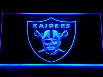 143 Oakland Raiders Football Bar Beer LED Neon Light Sign
