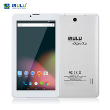 """iRULU X2 7"""" Phablet Android 5.1 Tablet Dual SIM 1024*600 8GB Phone Call tablet 2G/3G Dual Core Wifi GPS With Russian Keyboard(China (Mainland))"""