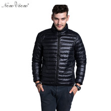 2016 Winter Padded Jacekt Men Brand Duck Down Collar Casual Warm Coat Outerwear Parka Jacket 6 Color Plus Size Down Jacket Men()
