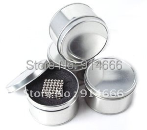 216pcs/set with Metal Box Nickel Color Buckyballs Magnet 3mm 4mm 5mm 6mm 7mm Bead Sphere Neo Cube Puzzle Neocube Balls