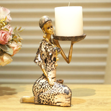 Creative Home Candleholder, Resin Home Decoration, Religion Candlestick,Southeast Asia Candle holders, Indonesia Candlesticks(China (Mainland))